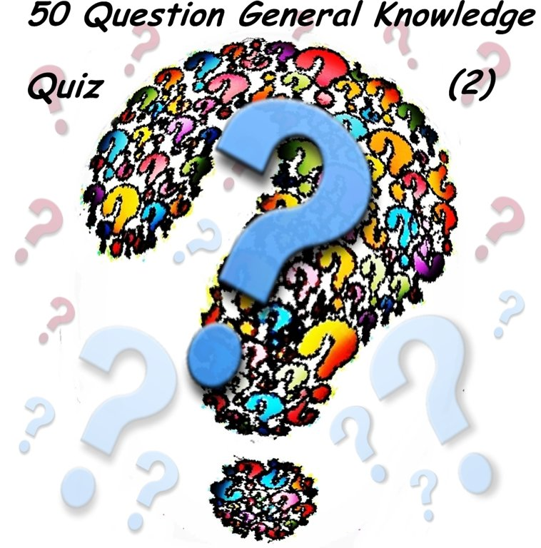 50 Question General Knowledge Quiz (2)